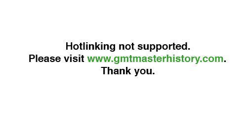 GMT Master History